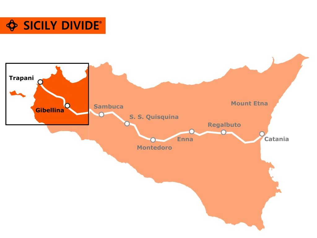 traccia della Sicily Divide 1