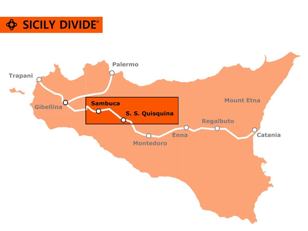 traccia della Sicily Divide 3