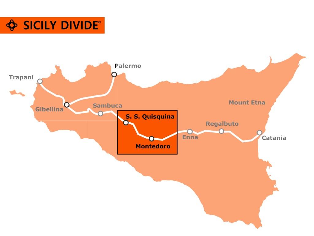 traccia della Sicily Divide 4