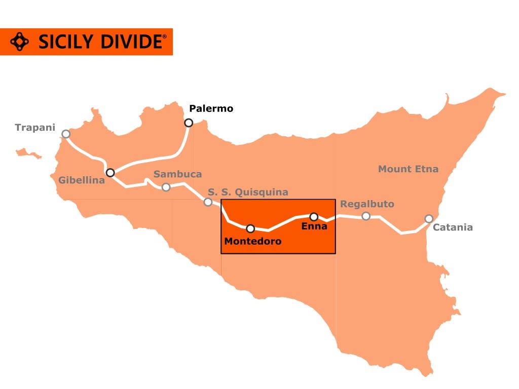 traccia della Sicily Divide 5