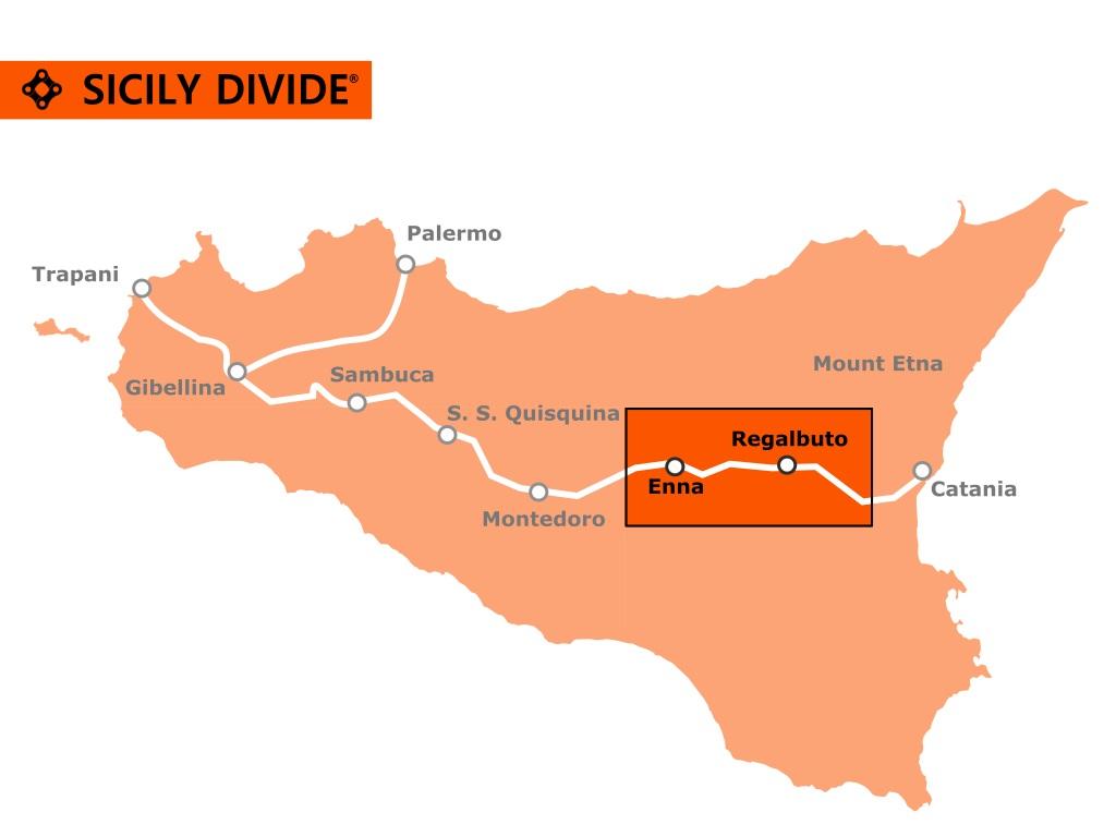traccia della Sicily Divide 6