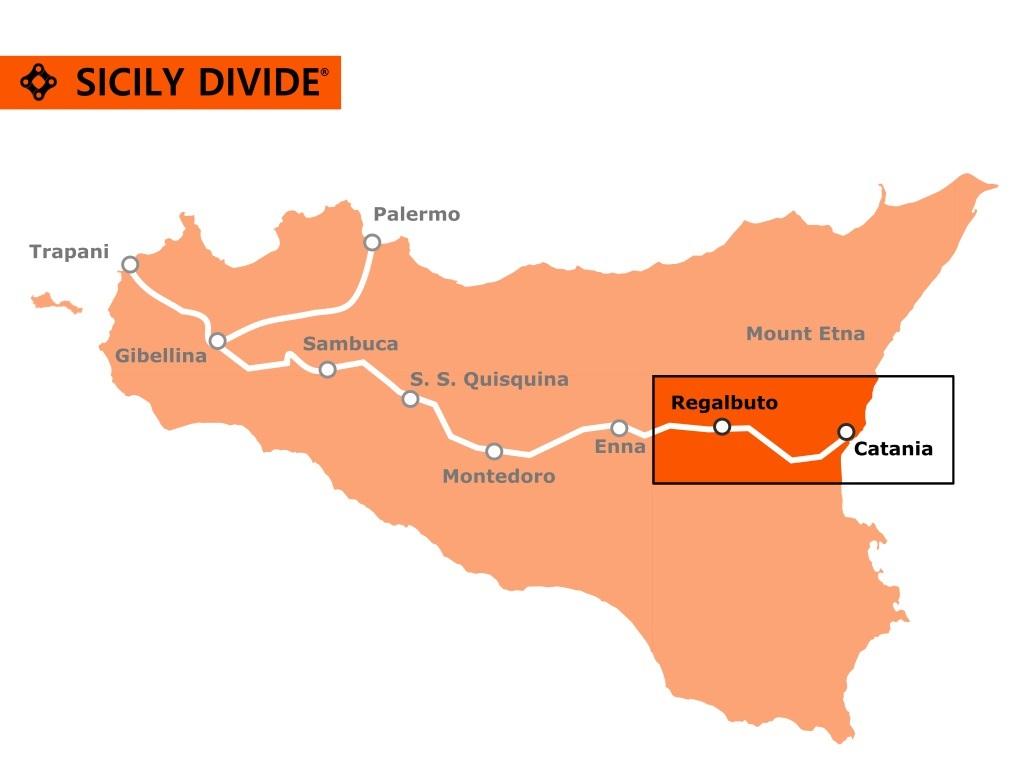 traccia della Sicily Divide 7