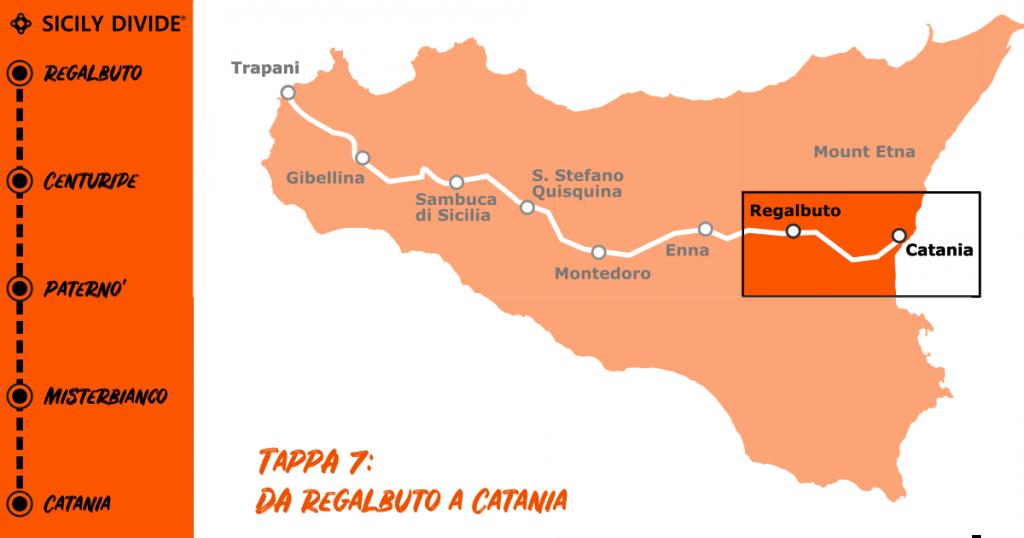 Sicily Divide Tappa 7 - da Regalbuto a Catania in bici