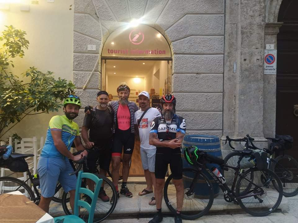 Gianluca, Daniele, Renato, Paolo