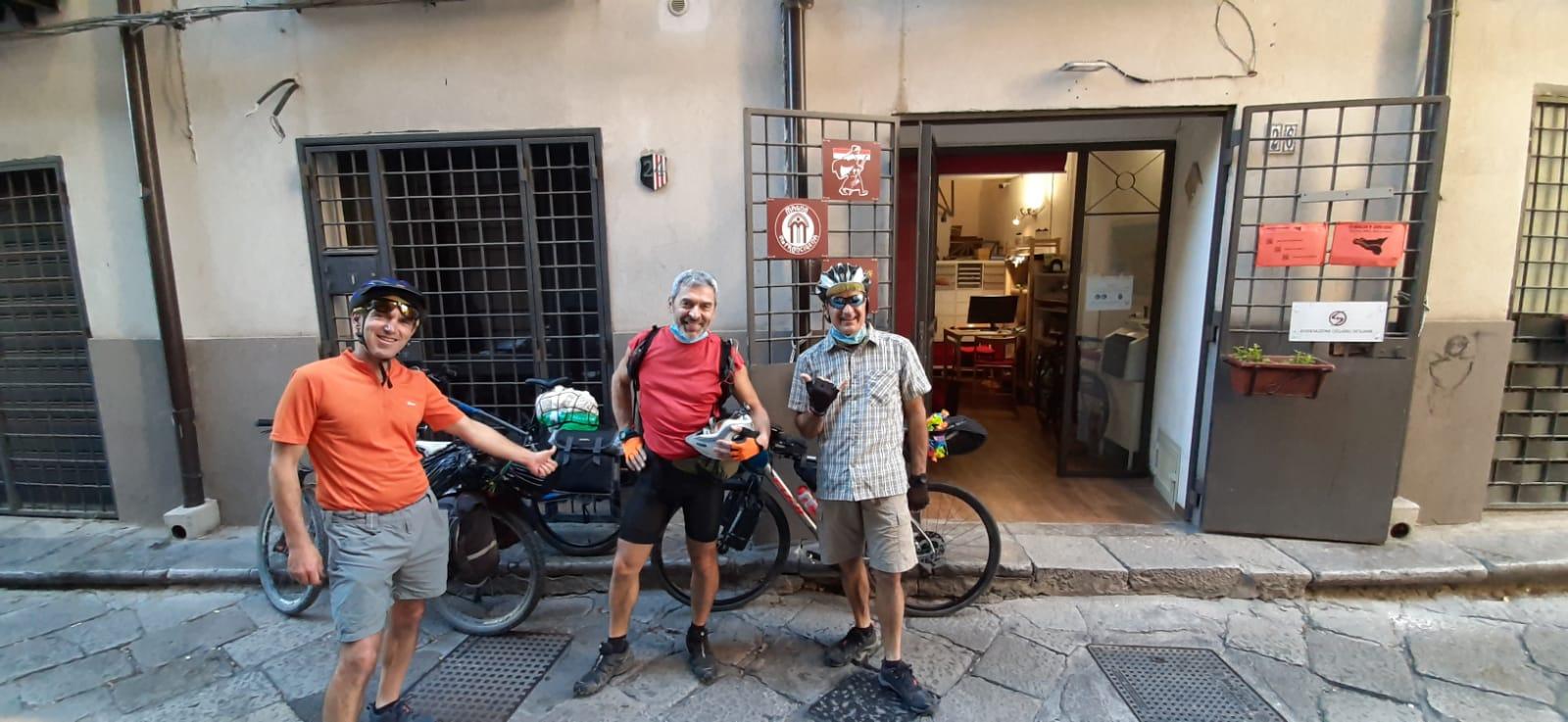Roberto, Massimiliano e Davide